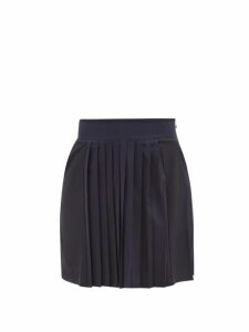 Connolly - Leather Trimmed Printed Canvas Pouch - Womens - Red Multi