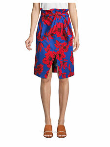 Ella Floral-Print Skirt