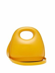 Lemaire - Egg Smooth Leather Bag - Womens - Yellow