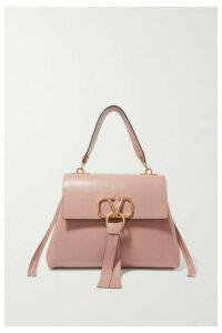 Valentino - Valentino Garavani Vring Small Leather Shoulder Bag - Pink