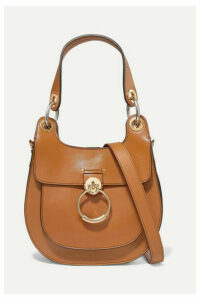 Chloé - Tess Small Leather Shoulder Bag - Camel