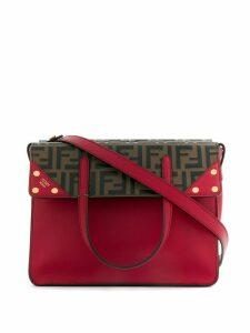 Fendi regular Flip tote bag - Red