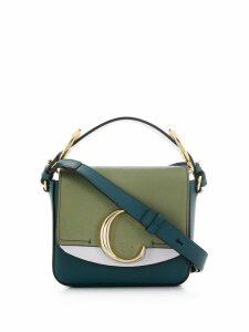 Chloé mini C crossbody bag - Green