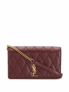 Saint Laurent angie chain shoulder bag - Red