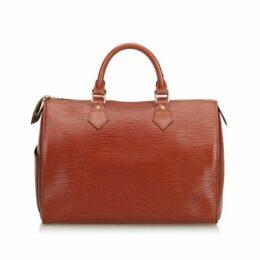 Louis Vuitton Brown Boston Bag