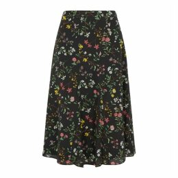 Altuzarra Caroline Floral-print Silk Skirt