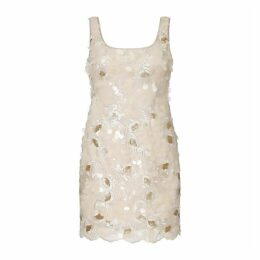 Aidan Mattox Embroidered Sequin Dress