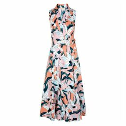 Tory Burch Floral-print Cotton Dress