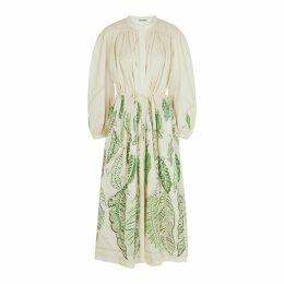 Three Graces X Zandra Rhodes Julienne Printed Cotton Dress