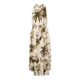 Vince Printed Crepe Dress