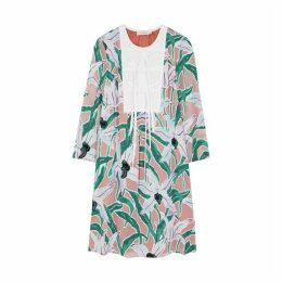 Tory Burch Floral Fil Coupé Dress