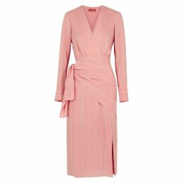 Altuzarra Sparks Light Pink Silk-blend Dress