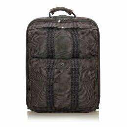 Hermes Gray Herline Luggage