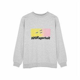 H2OFAGERHOLT Sweaty Sweat Printed Jersey Sweatshirt