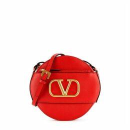 Valentino Garavani Red Leather Cross-body Bag