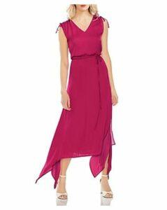 Vince Camuto Sleeveless V-Neck Dress