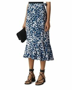 Whistles Leopard-Printed Wrap Skirt