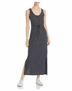 Vero Moda Daina Striped Tie-Detail Maxi Dress