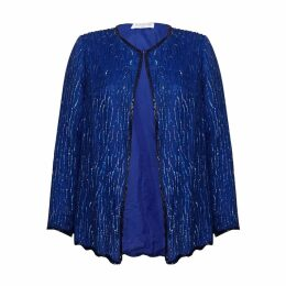 HASANOVA - Mare Royal Blue Sequin Jacket