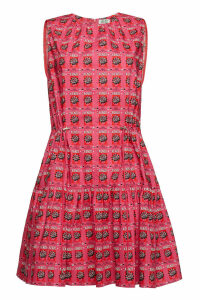 Kenzo Printed Cotton Dress