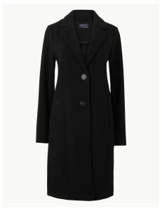 M&S Collection Textured Coat
