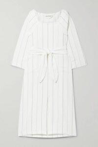 Nanushka - Seymour Snake-effect Vegan Leather Shirt - Brown