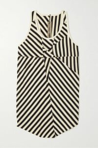 Missoni - Wrap-effect Metallic Crochet-knit Silk-blend Midi Dress - Blush