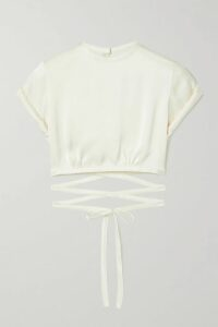 Missoni - Crochet-knit Wool Blazer - Beige