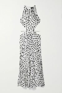 Gabriela Hearst - Serge Silk And Wool-blend Blazer - Silver