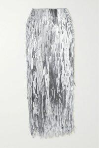 Emilia Wickstead - Petula Floral-print Crepe De Chine Shirt - Baby pink