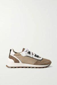Missoni - Metallic Crochet-knit Maxi Dress - Plum