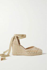 Roland Mouret - Draped Metallic Silk-blend Gown - Blush
