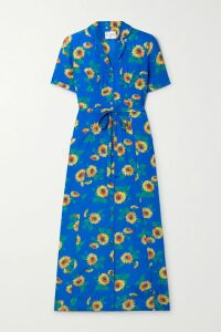 See By Chloé - Ribbed Wool-blend Turtleneck Midi Dress - Blush