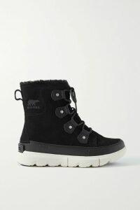 Simone Rocha - Floral-print Stretch-jersey Turtleneck Top - Black