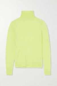 STAUD - Aperol Stretch-jacquard Knit Dress - Orange