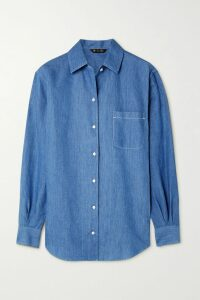 Sonia Rykiel - Striped Ribbed Cotton And Cashmere-blend Sweater - Army green
