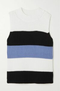 Philosophy di Lorenzo Serafini - Open-back Lace-trimmed Sequined Jersey Dress - Metallic