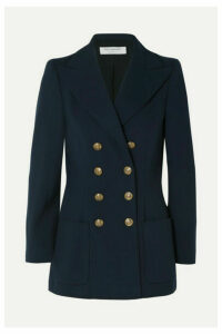 Philosophy di Lorenzo Serafini - Double-breasted Cady Blazer - Navy