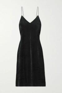 Ulla Johnson - Marina Floral-print Fil Coupé Silk-blend Chiffon Midi Skirt - Navy