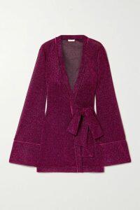 Nanushka - Quilted Vegan Leather Jacket - Ecru