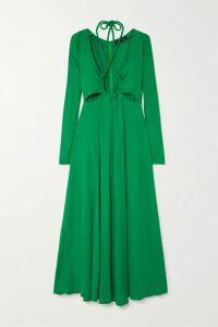 Georgia Alice - Lola Ribbed-knit Sweater - Sky blue