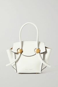 SEA - Agatha Broderie Anglaise Linen And Cotton-blend Midi Dress - Orange