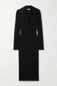 Prada - Floral-print Cotton-poplin Skirt - Pink