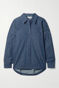 Lisa Marie Fernandez - Ruffled Tiered Linen-blend Dress - Green