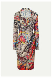 Vivienne Westwood - Grand Fond Printed Jersey Dress - Red