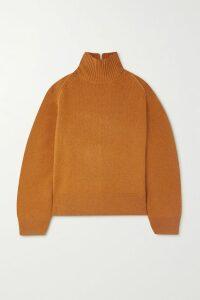 Les Rêveries - Ruffled Leopard-print Silk Crepe De Chine Maxi Dress - Blue