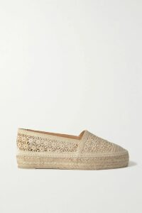Temperley London - Suki Tiered Satin-trimmed Metallic Fil Coupé Chiffon Dress - Blue