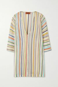 Lisa Marie Fernandez - Poet Belted Linen-blend Maxi Dress - Green