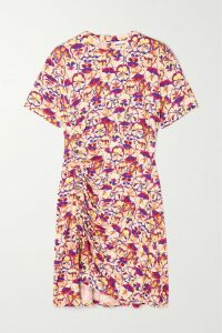 Tibi - Oversized Stretch-denim Blazer - Mid denim