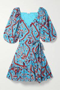 Stine Goya - + Net Sustain Monika Sequin-embellished Silk-chiffon Mini Dress - Green